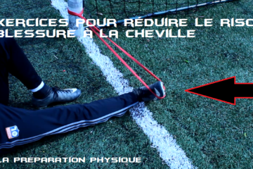 4 exercices de renforcement musculaire de la cheville.