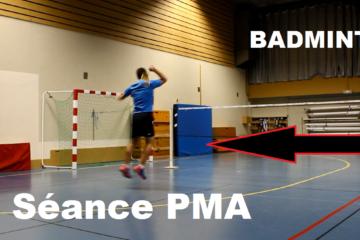 Photo qui montre un joueur faire une séance de pma.